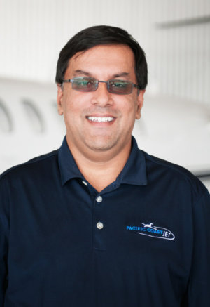 Private Aircraft Charter Pacific Coast Jet Names Adnan Jamil as Director of Maintenance