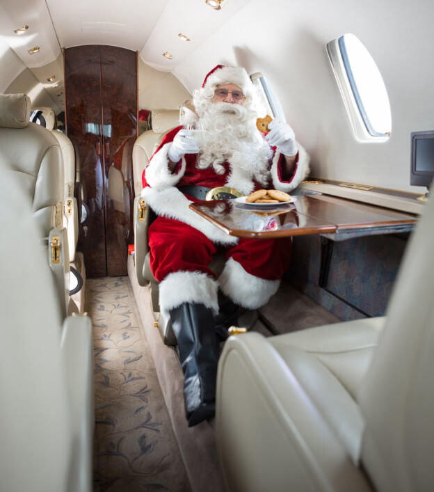 Fly Home for the Holidays with Jet Charter Travel