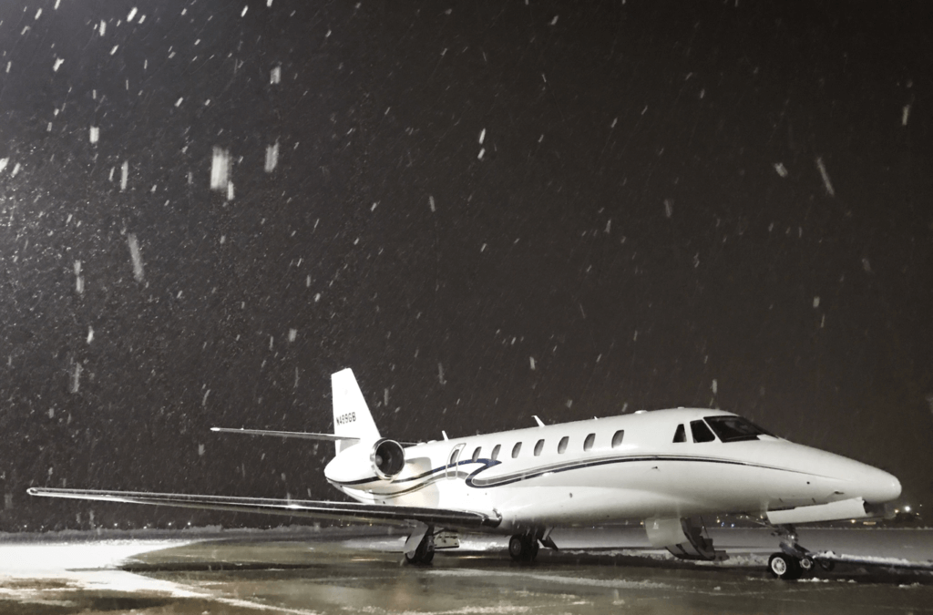 It's Never Too Late to Plan Holiday Private Jet Travel